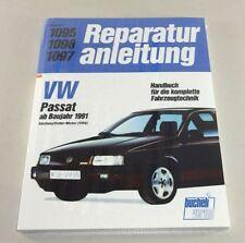 Reparaturanleitung VW Passat VR6 mit 6-Zylindermotor - ab Baujahr 1991!