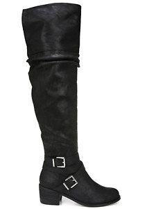 W315 Carlos Santana Black Sabina Knee High Boots - 7.5 M