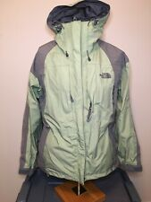 The North Face Gore Tex Jacket Green/Gray Summit Series XCR Women's Size M