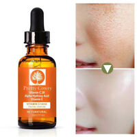 Vitamin C+AHA Serum Moisturizer Brightening Essence Anti Aging Pulling Skin Care