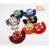 Retro Bohemian Tassel Fringe Drop Dangle Earrings Ear Stud Jewelry Women New