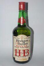 WHISKY HEDGES & BUTLER ROYAL LTD BLENDED DE LUXE SCOTCH WHISKY AÑOS 70 1L.