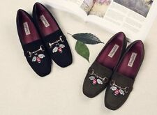Unbranded Suede Loafers Moccasins Flats for Women