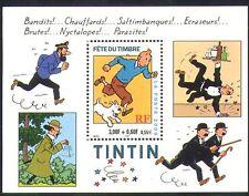 France 2000 Tintin/Dog/Cartoon/Animation/Herge/Stamp Day/Cartoons 1v m/s n36438