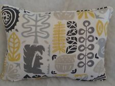 "WOODLAND BY SCION OBLONG CUSHION  20"" X 14""(51 CM X 36 CM)DOUBLE SIDED/ZIP OFF"
