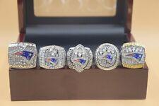 5 Pcs 2001 2003 2004 2014 2016 New England Patriots Championship Ring !!-/--