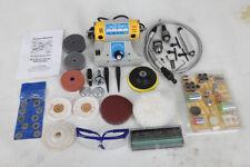 TM-2 Jewelry Rock Polishing Buffer Machine Bench Lathe Polisher 350W+Accessories