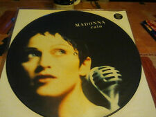 "madonna""rain''maxi 12""picture disc de 1993.open your heart""(peugeot tv ad..)"