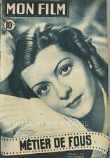 Mon film n°127 - 1949 -  Lisette Lanvin - Glenn Langan - Andrée Clement -