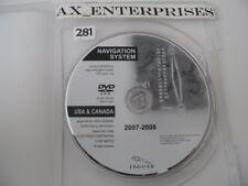 2007 - 2009 Jaguar XK XKR Navigation DVD # 10E898-BD East Map Edition © 07- 2008