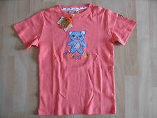 ADELHEID schönes Shirt Bärenstark coralle Gr. 128/134 NEU