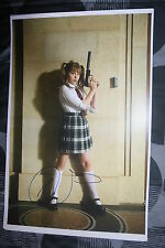CHLOE MORETZ Signed 11x17 inch photo DC/COA/HOLO KICK ASS (RARE)