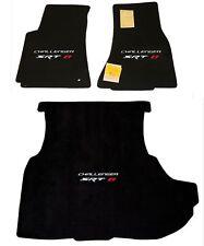LLOYD MATS Velourtex™ 3pc FLOOR MAT SET fits Dodge Challenger SRT-8 with woofer