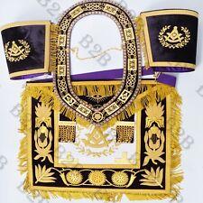 Masonic Apron Grand Lodge Past Master Purple