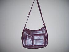 Brown Shoulder Strap Handbag with Matching Wallet