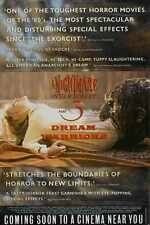 Pesadilla En Elm Street 3 Poster 03 A2 Caja Lona Impresión
