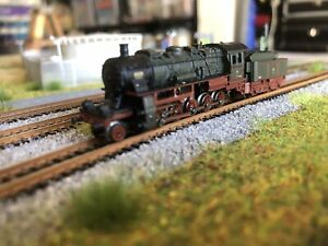 Z Scale marklin 88122 Steam Locomotive Belgium  DCC And LED  Rare