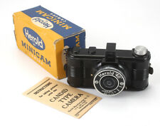 HEROLD 40 MINICAM, USES 127 FILM, BOXED, BODY CRACKED, AS-IS/cks/188892