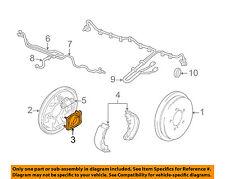 SUZUKI OEM 02-06 XL-7 Brake-Rear-Retainer Plate 5382052D00