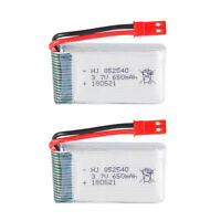 3.7V 650mAh Li-po Battery JST Plug for FY550 HJ818 HJ819 HM1315s RC Quadcopter