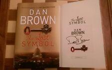 The Lost Symbol SIGNED Dan Brown Hardback 2009 1st edition 1st impression