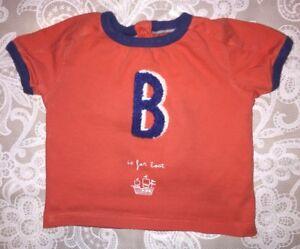 Boys M&S Age 3-6 Months - T Shirt
