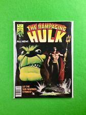 The Rampaging Hulk Magazine #5 (1977): Hulk and Sub-Mariner Brawl!  FN/VF!