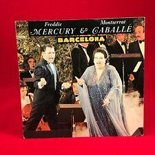 """FREDDIE MERCURY & MONTSERRAT CABALLE Barcelona 1987 7"""" vinyl Single EXCELLENT D"""