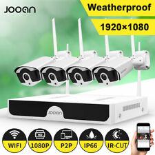 Jooan Inalámbrico CCTV 1080P 8CH DVR Kit Wifi IP Cámara NVR Sistema Seguridad