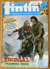 BD Comics Magazine Hebdo Journal Tintin No 50 42e 1987 Thorgal