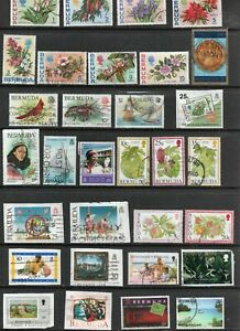 Bermuda 31 beautiful used  Pictorials inc flowers and fruits