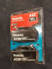 Makita BL1830B 18V LXT Lithium-Ion 3.0Ah Battery 2 Pack NEW