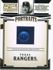 2005 Donruss RAFAEL PALMEIRO # P80 Prime Patches Portraits Button #d 4/6