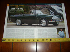 1964 SUNBEAM TIGER - ORIGINAL ARTICLE