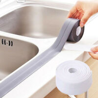 3.2M Self Adhesive Waterproof Anti-moisture Tape Kitchen Corner Caulk Stickers