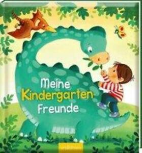 Meine Kindergarten-Freunde (Dinosaurier) | Buch | Hardcover wattiert | Deutsch