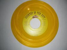 Colored Vinyl Country 45 Evelyn My Window Faces The South /I Guess I Had your...