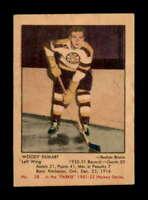 1951 Parkhurst #28 Woody Dumart  EXMT+ X1510260