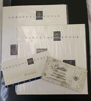Lot 1991 Cadillac Dealership Brochures Brougham Exterior Color Diagnostic System