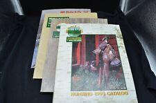 4 Vtg Bill Hicks & Co. 1992-95 Hunting Catalogs-Minneapolis, Mn-Colored Gun Ads