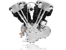 "Harley Davidson Knucklehead 87"" Long Block Engine Motor Assembled in USA"