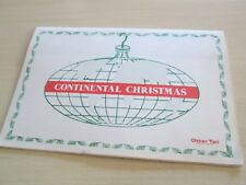 Vintage Otter Tail Power Continental Christmas Advertising Cookbook