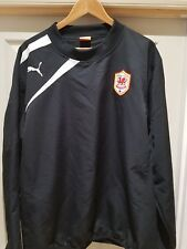 CARDIFF CITY FOOTBALL CLUB PUMA WOVEN  TRAINING TOP XL