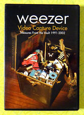 Weezer - Video Capture Device 1991-2002 ~ DVD Movie ~ Live Music Rare Acoustic