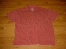 Organic Apparel ECO GREEN Organic Cotton Mens Polo Shirt Chest Pocket 2XL Nice!