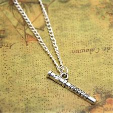 Jewelry Music Teacher Gift Flutist Gift Flute necklace Flute Charm pendant Flute