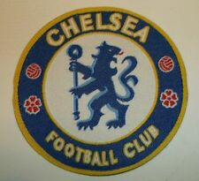 "Chelsea~Soccer Football Club Patch~England~EPL~Woven~2 5/8""~Iron or Sew On"