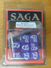 GB Saga: Aetius & Arthur: SAGA: Roman/Briton Dice (8) Faction Dice-NEW