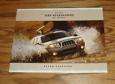 Original 2004 Jeep Grand Cherokee Accessories By Mopar Sales Brochure 04 08/03