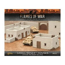 Flames of War Small Desert Houses Painted Tabletop Terrain 15mm BB222